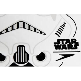 speedo Stormtrooper Slogan Cap Junior White/USA Charcoal/Black
